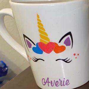 Customize unicorn cup